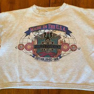 Sweaters - Vintage Harley Davidson crew neck sweater